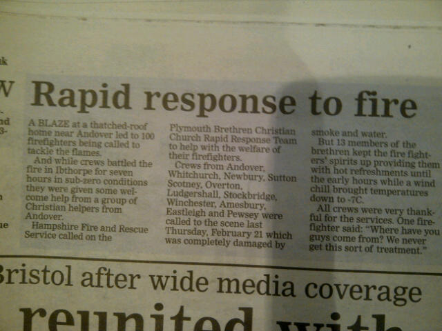 PBCC - Andover Advertiser Report
