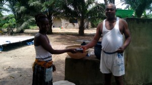 It was through Mr Oparocha that the PBCC were able to effectively distribute the free bibles to the community.