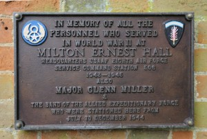 The students also learnt that Milton Ernest Hall was used as a HQ by the Allied Forces in WW2.