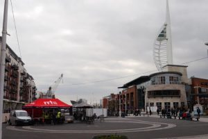 RRT Tent at Gunwharf Quays
