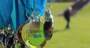 The Memory Walk Participant Medals