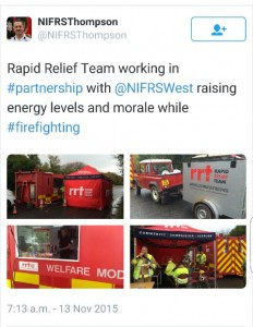 A tweet from the NIFRS