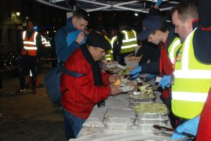 Youre Not Alone Sleepout 20170224 RRT DUBLIN Had the pleasure of serving many different people from many walks of life