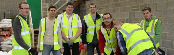 Plymouth Brethren help in Taunton Floods