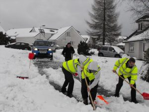 Plymouth Brethren - Belfast RRT Shovel Snow 2