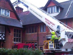 Plymouth Brethren - Firemen  - Haslemere Fire