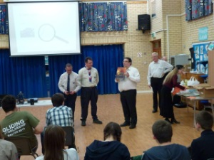 Plymouth Brethren - Presentation to Scouts