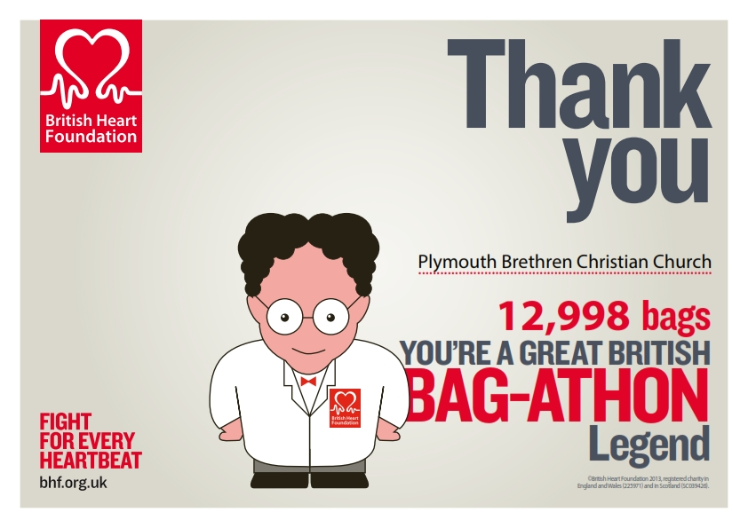 Plymouth Brethren - Great British Bag-Athon