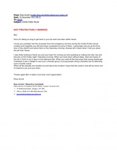 Plymouth Brethren - Rapid Relief Team Glasgow