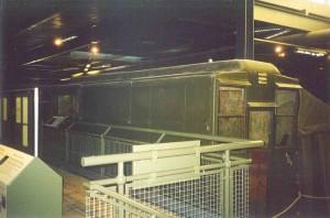 Monty's Caravan in the War Museum in Duxford – England