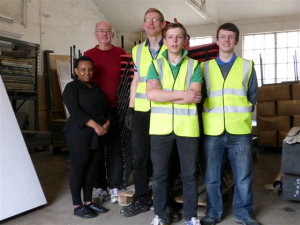 Plymouth Brethren Donate Furniture