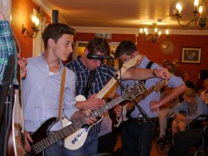The band consisted of 5 young members of the Bristol PBCC aged between 14 and 16