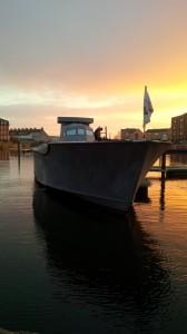 (11)MTB219 takes pride of place in Bridgwater Docks