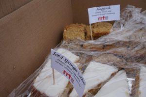 RRT Iced sponge cake anyone?