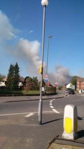 The smoke!