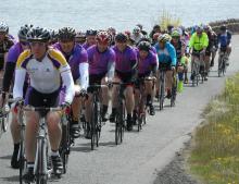 Riders in Belfast FROG event