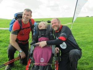 Happy walkers and children – what an achievement!1