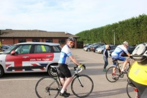 The Ipswich Hospital Charity Chief Exec. all ready to go