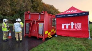 RRT  were called to assist at the 5 day event
