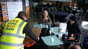 RRT keeping the evacuees fed – Stafford fire March '16