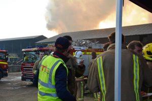 Norfolk Timber Fire RRT Kings Lynn 21012017012 RRT Refreshments on Sunday (4)1