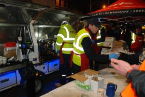 Youre Not Alone Sleepout 20170224 RRT DUBLIN Approximately 380 people were served at the event