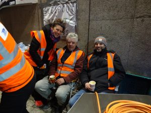 Youre Not Alone Sleepout 20170224 RRT DUBLIN The event was to show solidarity with homeless people