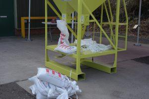 Sandbagger Machine 032017 RRT Taunton Previously RRT Had been filling sandbags by hand during flood events